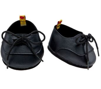 Build A Bear Workshop Black Dress Shoes
